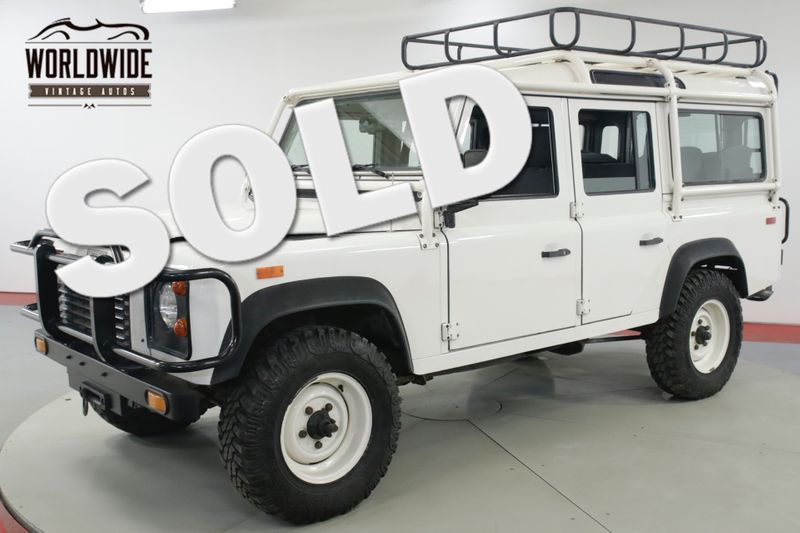 1993 Land Rover DEFENDER 110. NAS. 1 OF 500 CA/NV TRUCK 31K ORIGINAL MILES  | Denver, CO | Worldwide Vintage Autos