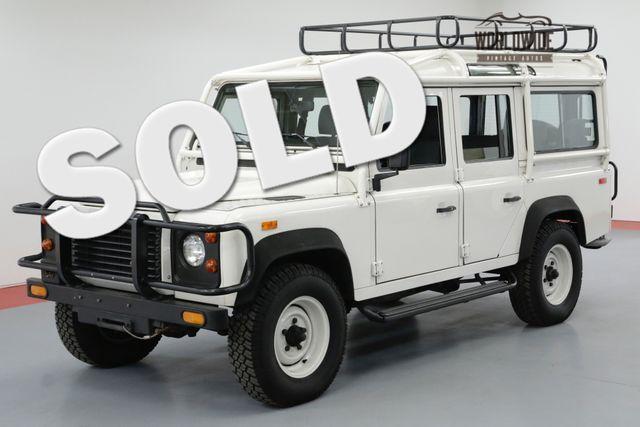 1993 Land Rover DEFENDER 110 NAS 369/500 CA TRUCK ORIGINAL LOW MILES | Denver, CO | Worldwide Vintage Autos in Denver CO