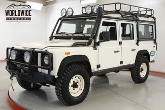 1993 Land Rover DEFENDER 110 ULTRA RARE NAS 469/500 WINCH RACK SNORKEL  | Denver, CO | Worldwide Vintage Autos in Denver CO