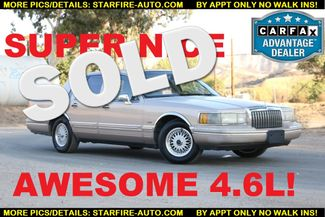 1993 Lincoln Town Car Executive Santa Clarita, CA