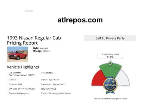 1993 Nissan Trucks 2WD  in Salt Lake City, UT