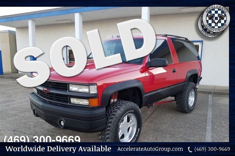 1994 Chevrolet 2 Door Blazer ONLY 52K ORIGINAL MILES, LIFTED RARE!!! in Rowlett Texas