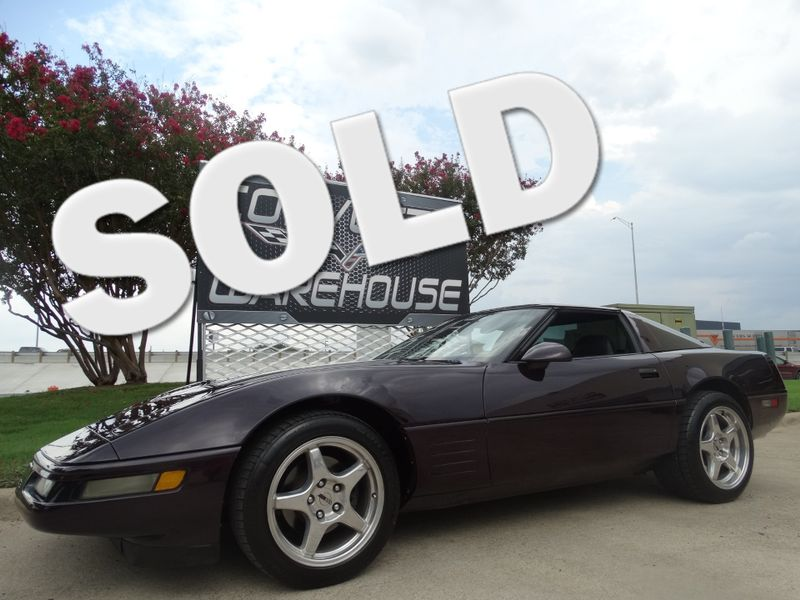 1994 Chevrolet Corvette Coupe ZR1 Chromes, Auto, Bose CD, NICE! | Dallas, Texas | Corvette Warehouse