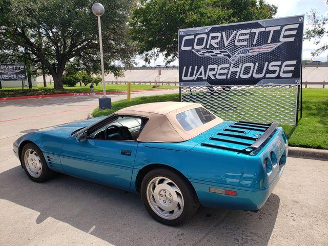 1994 Chevrolet Corvette Convertible 1SB, Auto, CD Player, Alloy Wheels 79k in Dallas, Texas 75220