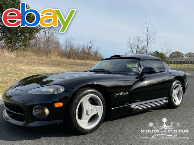 1994 Dodge Viper Rt10 With HARDTOP 26K ACTUAL MILES CLEAN CARFAX MINT