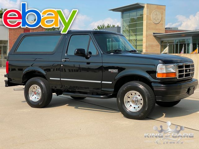 1994 Ford Bronco Xlt 4wd 5.0L V8 LOW MILES WEST COAST TRUCK RUST FREE in Woodbury, New Jersey 08093