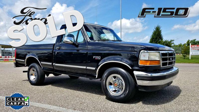 1994 Ford F-150 CLEAN CARFAX TRUCK 5.0L V-8  | Palmetto, FL | EA Motorsports in Palmetto FL