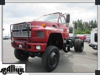 1994 Ford F800 Cab & Chassis 4WD Cummins Diesel in Burlington WA, 98233