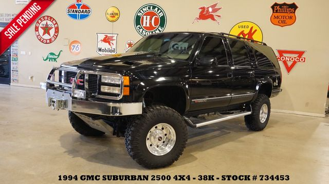 1994 GMC Suburban 2500 SLE 4X4 LIFTED,7.4L,SUPERCHARGED,WELD WHLS,38K