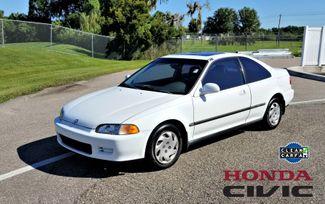 1994 Honda Civic EX w/ABS coupe CLEAN CARFAX LOW MILES  | Palmetto, FL | EA Motorsports in Palmetto FL