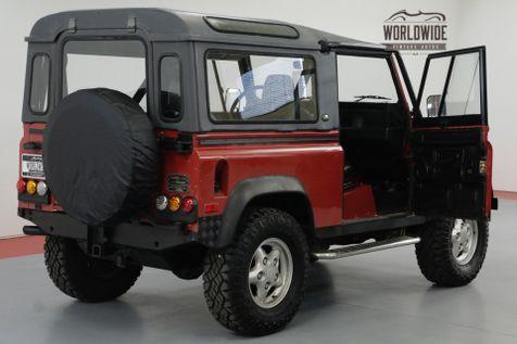 1994 Land Rover DEFENDER 90 NAS PORTOFINO RED 125K MILES | Denver, CO | Worldwide Vintage Autos in Denver, CO
