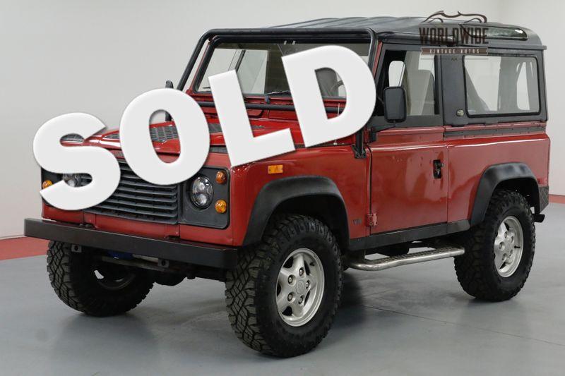 1994 Land Rover DEFENDER 90 NAS PORTOFINO RED 125K MILES | Denver, CO | Worldwide Vintage Autos