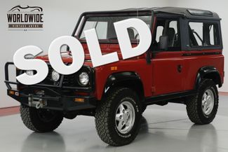1994 Land Rover DEFENDER 90  NAS. 39K ORIGINAL MILES. COLLECTOR. 1 OWNER  | Denver, CO | Worldwide Vintage Autos in Denver CO