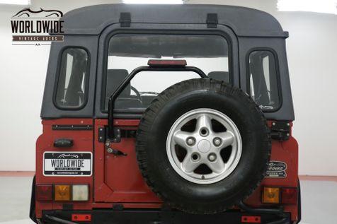 1994 Land Rover DEFENDER 90  NAS. 39K ORIGINAL MILES. COLLECTOR. 1 OWNER  | Denver, CO | Worldwide Vintage Autos in Denver, CO