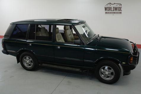 1994 Land Rover RANGE ROVER LWB CLASSIC | Denver, CO | Worldwide Vintage Autos in Denver, CO