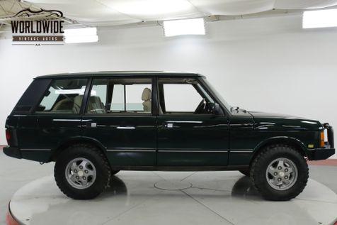 1994 Land Rover RANGE ROVER LWB AUTO REBUILT 4.6L CONVERSION WINCH 5K MILES   Denver, CO   Worldwide Vintage Autos in Denver, CO