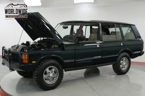 1994 Land Rover RANGE ROVER LWB AUTO REBUILT 4.6L CONVERSION WINCH 5K MILES | Denver, CO | Worldwide Vintage Autos in Denver, CO