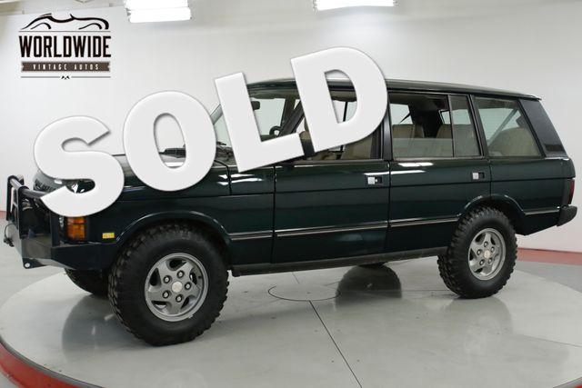 1994 Land Rover RANGE ROVER LWB AUTO REBUILT 4.6L CONVERSION WINCH 5K MILES   Denver, CO   Worldwide Vintage Autos in Denver CO