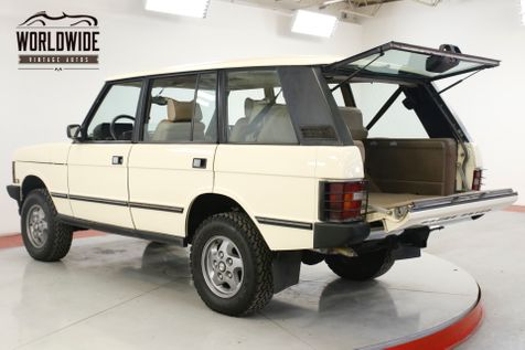 1994 Land Rover RANGE ROVER CLEAN. CARFAX. LOW MILES. WELL MAINTAINED  | Denver, CO | Worldwide Vintage Autos in Denver, CO