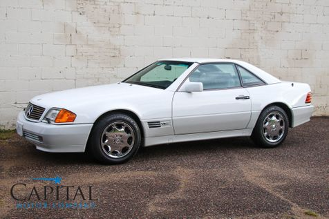 1994 Mercedes-Benz SL600 V12 Luxury Convertible w/Removable Hard Top, Power Soft Top, Heated Seats & BOSE Audio System in Eau Claire