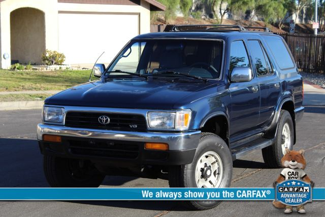 1994 Toyota 4RUNNER SR5 4WD MANUAL 1-OWNER A/C SUNROOF