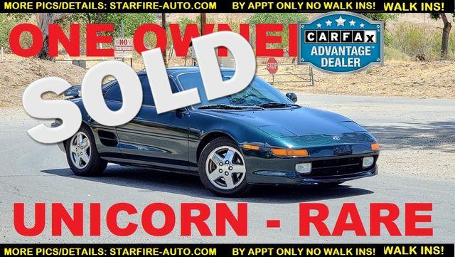 1994 Toyota MR2 T-TOP TURBO UNICORN Santa Clarita, CA