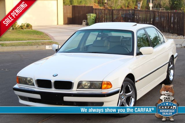 1995 BMW 7 Series 740iL SUNROOF LEATHER XLNT COND. in Woodland Hills CA, 91367