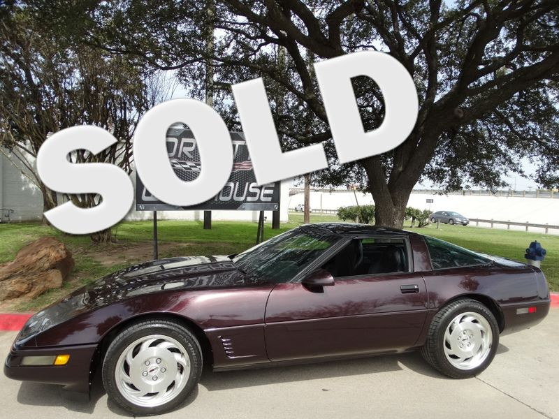 1995 Chevrolet Corvette Coupe Auto, Pioneer Radio, Alloy Wheels Only 72k! | Dallas, Texas | Corvette Warehouse