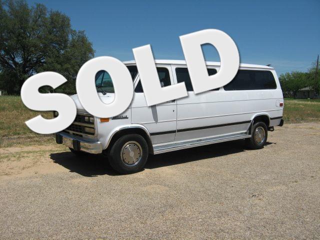 1995 Chevrolet Sport Van G30 Extended