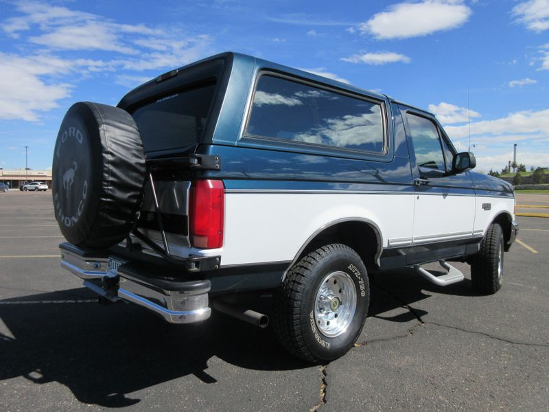 1995 Ford Bronco XLT  Fultons Used Cars Inc  in , Colorado