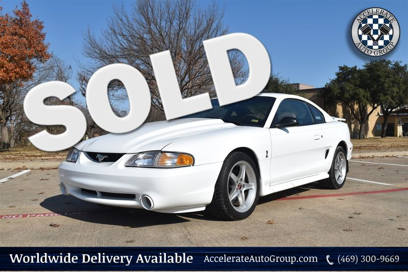 1995 Ford Cobra R ONLY 9,500 MILES, SUPER NICE in Rowlett Texas