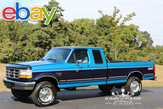 1995 Ford F250 Xlt X-Cab 7.3L DIESEL 92K ACTUAL MILES RUST FREE 4X4 in Woodbury, New Jersey 08096