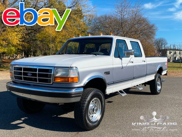1995 Ford F350 4x4 Crew Cab LONG BED OBS RARE in Woodbury, New Jersey 08093