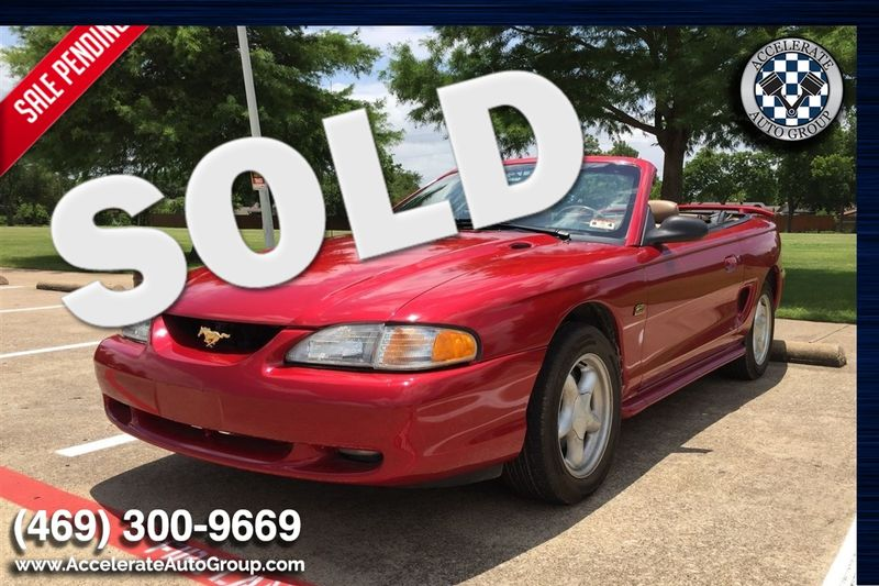 1995 Ford Mustang GT ONLY 45k miles!!! in Rowlett Texas
