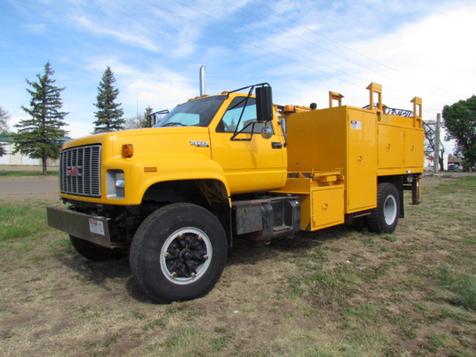 1995 GMC C7000 Utility Service Truck in Glendive, MT
