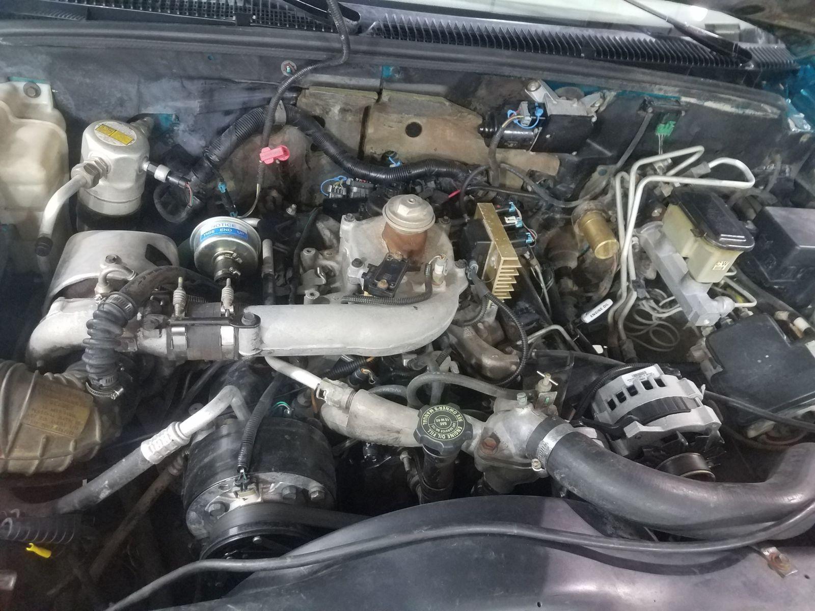1995 gmc sierra engine