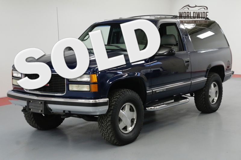 1995 GMC YUKON $60K+ RESTORATION NICEST AROUND SHOWROOM BLAZER | Denver, CO | Worldwide Vintage Autos