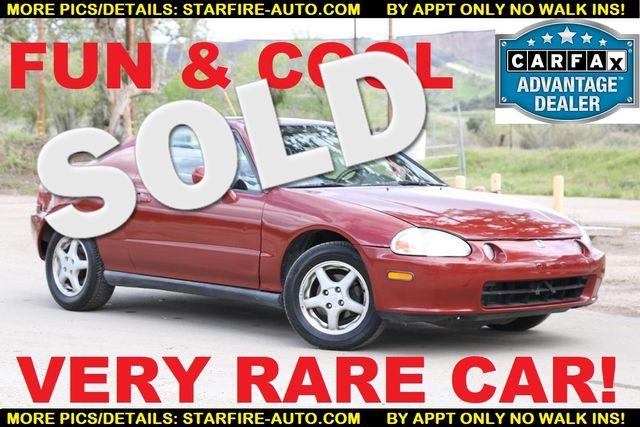 1995 Honda Civic del Sol Si Santa Clarita, CA 0