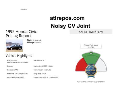 1995 Honda Civic EX in Salt Lake City, UT