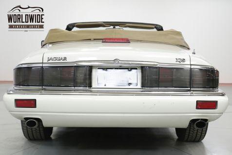 1995 Jaguar XJS CONVERTIBLE 4.0 L 83K MILES. LEATHER! AC | Denver, CO | Worldwide Vintage Autos in Denver, CO