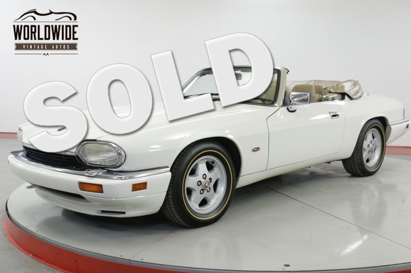 1995 Jaguar XJS CONVERTIBLE 4.0 L 83K MILES. LEATHER! AC   Denver, CO   Worldwide Vintage Autos