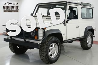 1995 Land Rover DEFENDER 90 NAS 108K ORIGINAL MILES 4x4 5SPD 1 OF 500 | Denver, CO | Worldwide Vintage Autos in Denver CO