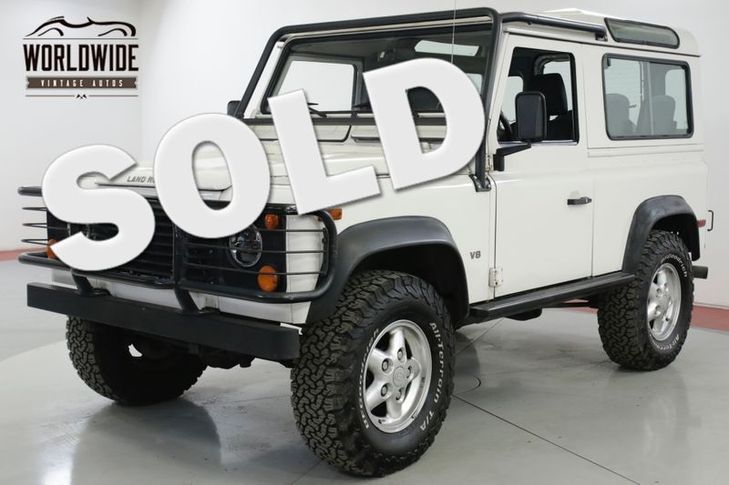 1995 Land Rover DEFENDER 90 NAS 108K ORIGINAL MILES 4x4 5SPD 1 OF 500 | Denver, CO | Worldwide Vintage Autos