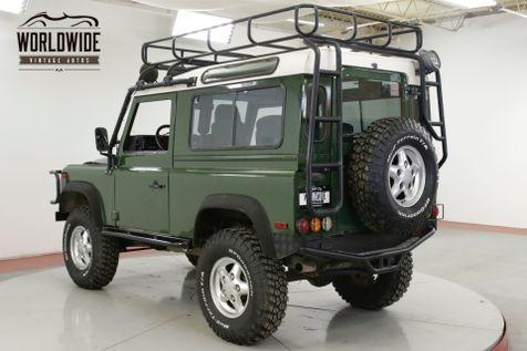 1995 Land Rover DEFENDER 90 NAS! 79K ORIGINAL MILES! ACCESSORIES 4x4 5 SPD AC! | Denver, CO | Worldwide Vintage Autos in Denver, CO