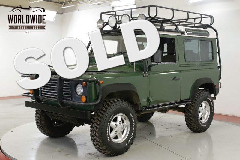 1995 Land Rover DEFENDER 90 NAS! 79K ORIGINAL MILES! ACCESSORIES 4x4 5 SPD AC! | Denver, CO | Worldwide Vintage Autos