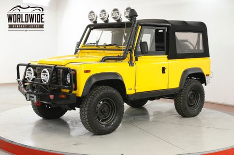 1995 Land Rover DEFENDER NAS 53K ORIGINAL MILES AC $15K IN EXTRAS  | Denver, CO | Worldwide Vintage Autos in Denver, CO