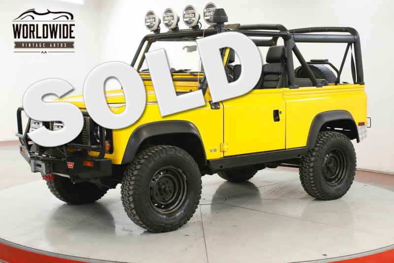 1995 Land Rover DEFENDER NAS 53K ORIGINAL MILES AC $15K IN EXTRAS  | Denver, CO | Worldwide Vintage Autos