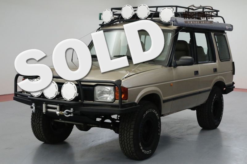 1995 Land Rover DISCOVERY OVERLAND D1. LOW MILES. THOUSANDS IN EXTRAS! | Denver, CO | Worldwide Vintage Autos