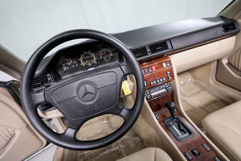 1995 Mercedes-Benz E320 - 16 wheels - New Pirelli Tires - Just serviced  city California  MDK International  in Los Angeles, California