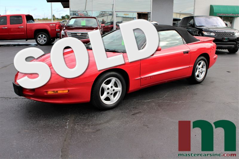 1995 Pontiac Firebird Convertible | Granite City, Illinois | MasterCars Company Inc. in Granite City Illinois